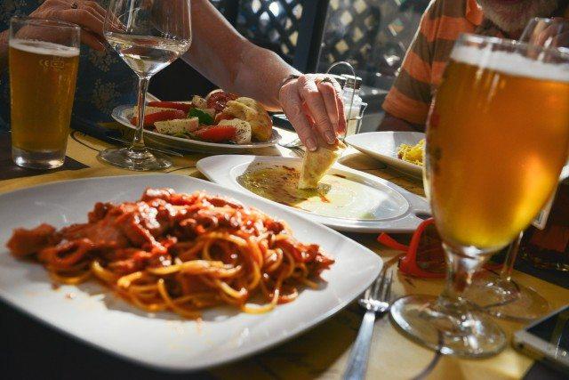 food dining wine beer