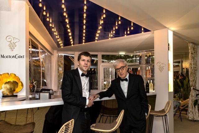 Woody Allen & Jesse Eisenberg©MCWB 2016-1