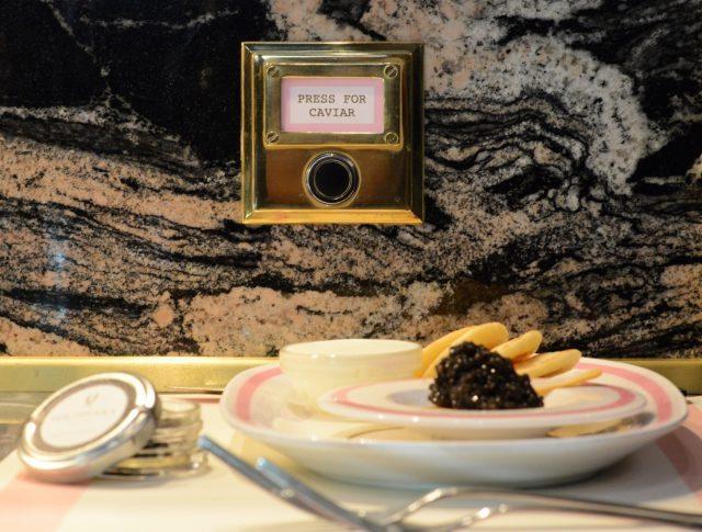 press for caviar