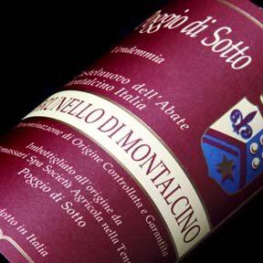 Brunello di Montalcino 2005, Poggio di Sotto