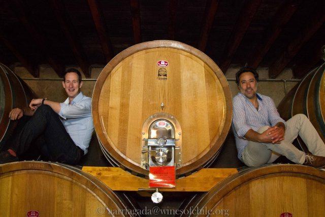 Peter Richards & Marcelo Papa (courtesy Alvaro Arriagada)