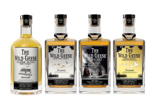 Wild Geese Irish Whiskey Collection (PRNewsFoto/Wild Geese Irish Whiskey)