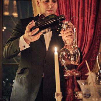 Giovanni Ferlito decants Port at The Ritz
