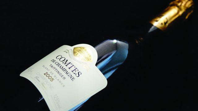 Champagne Taittinger's Comtes de Champagne prestige cuvée