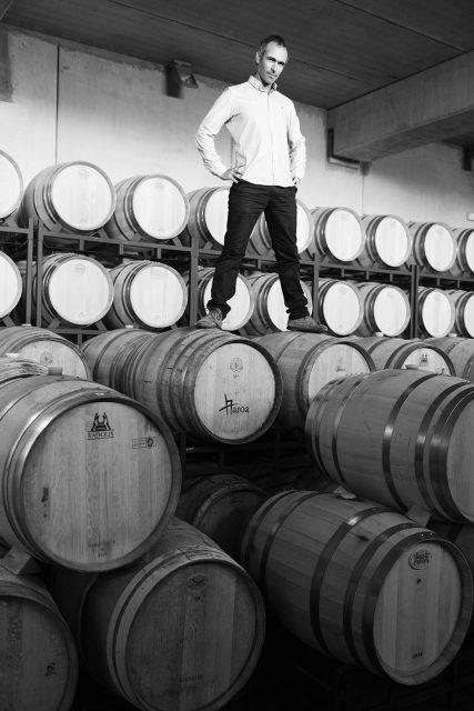 Vintae chief winemaker and Garnachista Raul Acha