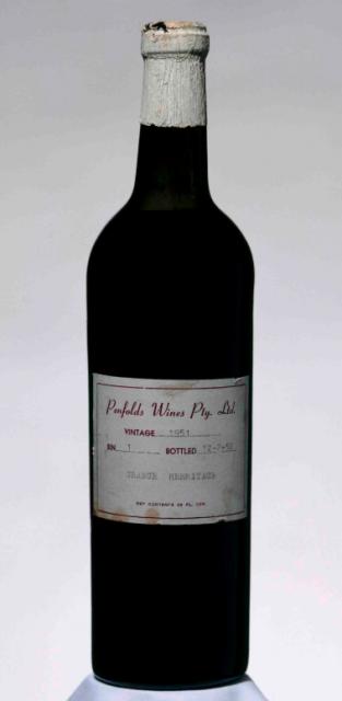 Bottle Of Penfolds Grange 1951 Sells For Record 80k