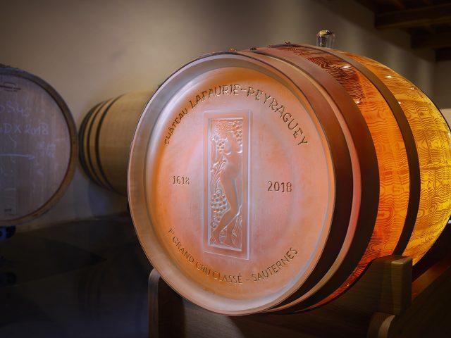 Lalique har lavet en barrique i glas.
