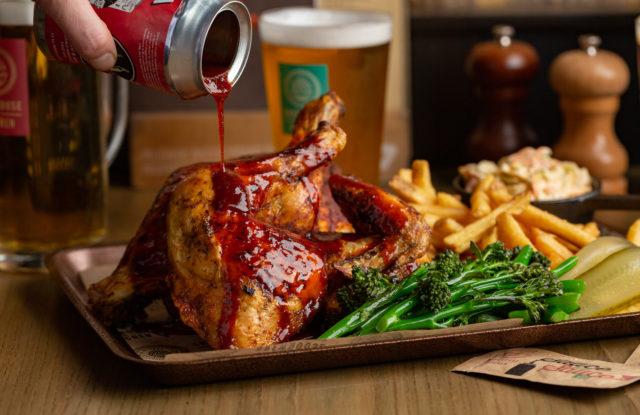 Brewhouse & Kitchen Beer Can Chicken Justin DeSouza