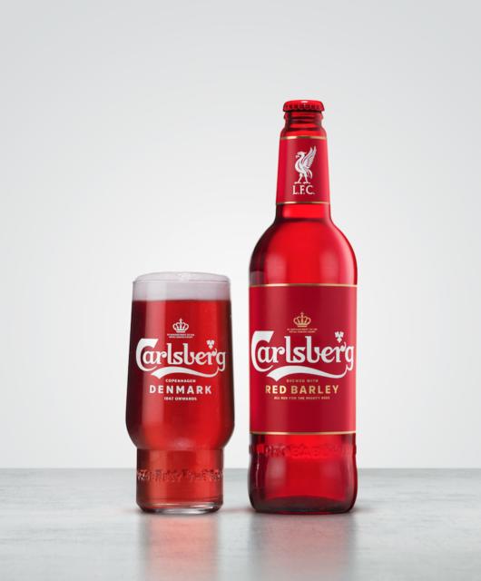 Carlsberg Liverpool FC Red Beer