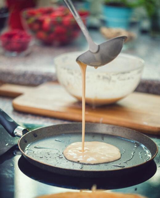 A pancake mix